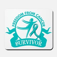 Freedom From Ovarian Cancer Shirts Mousepad