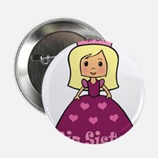 "I'm The Big Sister Princess 2.25"" Button"