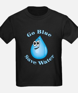 Go Blue - Save Water T