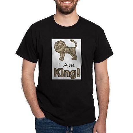 I Am King! Black T-Shirt