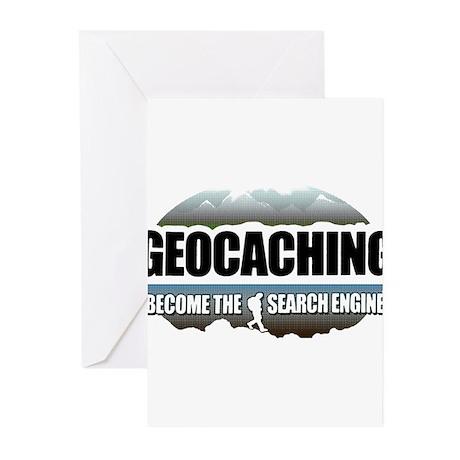 GEOCACHING Greeting Cards (Pk of 10)
