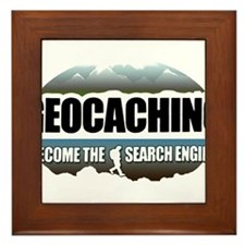 GEOCACHING Framed Tile
