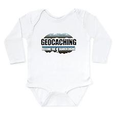 GEOCACHING Long Sleeve Infant Bodysuit