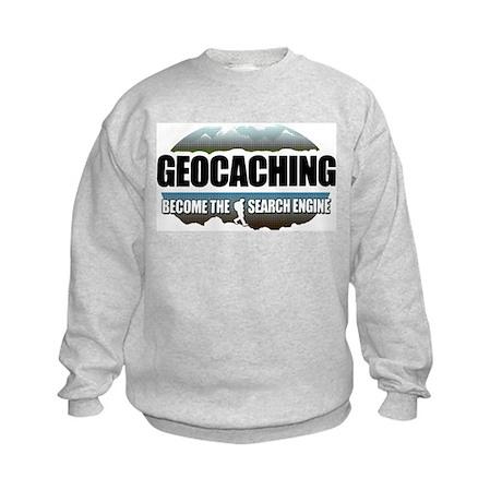GEOCACHING Kids Sweatshirt