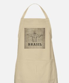 Vintage Christ The Redeemer Apron