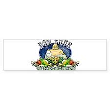 EAT YOUR VEGGIES Bumper Sticker