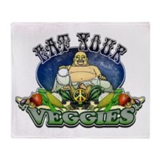 EAT YOUR VEGGIES Throw Blanket
