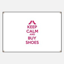 Keep calm and buy shoes Banner
