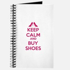 Keep calm and buy shoes Journal