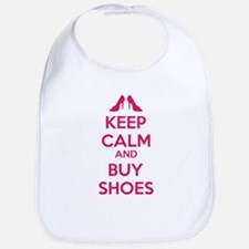 Keep calm and buy shoes Bib