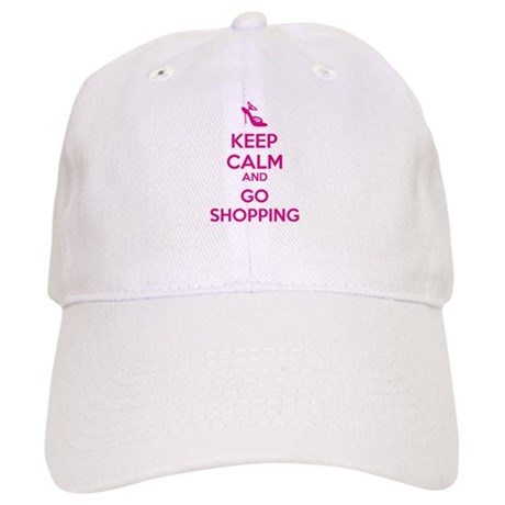 Keep calm and go shopping Cap