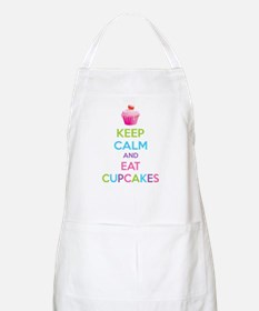 Keep calm and eat cupcakes Apron