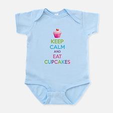 Keep calm and eat cupcakes Onesie