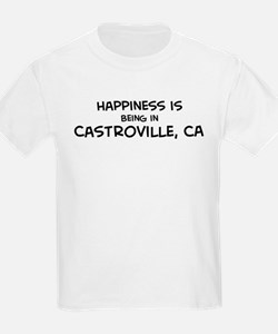 Castroville - Happiness Kids T-Shirt