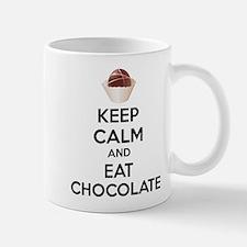 Keep calm and eat chocolate Small Small Mug
