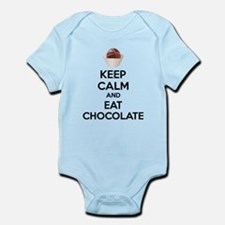 Keep calm and eat chocolate Infant Bodysuit