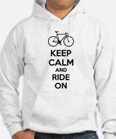 Keep calm and ride on Jumper Hoody