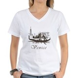 Venice italy Womens V-Neck T-shirts