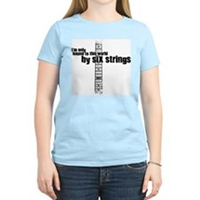 IM ONLY BOUND TO THIS WORLD BY 6 STRINGS T-Shirt