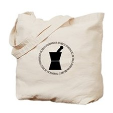 retired pharmacist pestle and mortar.PNG Tote Bag