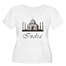 Retro India Taj Mahal T-Shirt