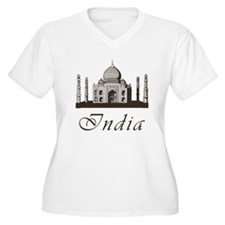 Retro India Taj Mahal T-Shirt