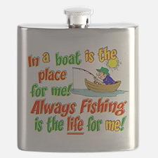 Cute Insanity Flask