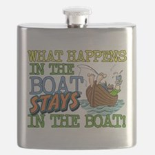 STAYS IN THE BOAT Flask