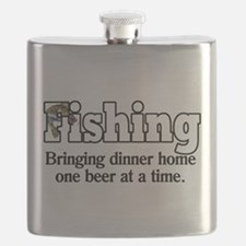 One Beer At A Time Flask