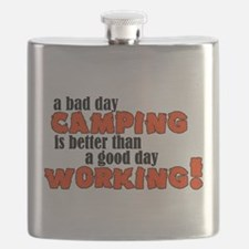 Bad Day Camping Flask
