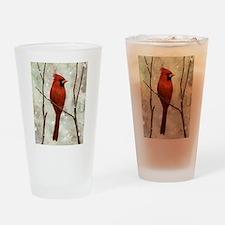 Cardinal: Drinking Glass