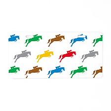 Equestrian Horses Aluminum License Plate
