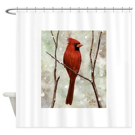 Cardinal: Shower Curtain