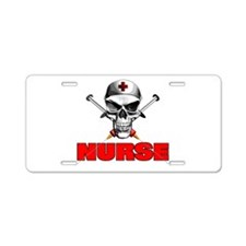 Evil Nurse Aluminum License Plate