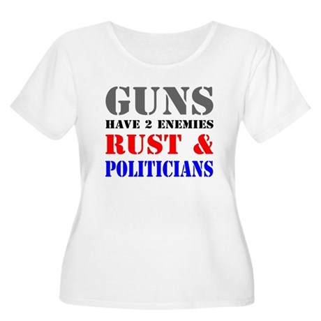 Guns have two enemies rust and politicians Women's