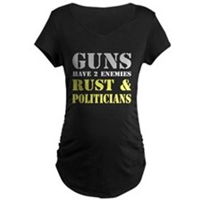 Guns have two enemies rust and politicians Materni