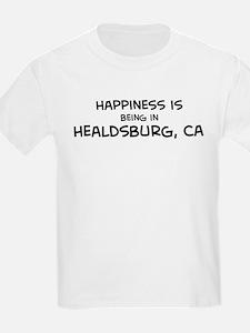 Healdsburg - Happiness Kids T-Shirt