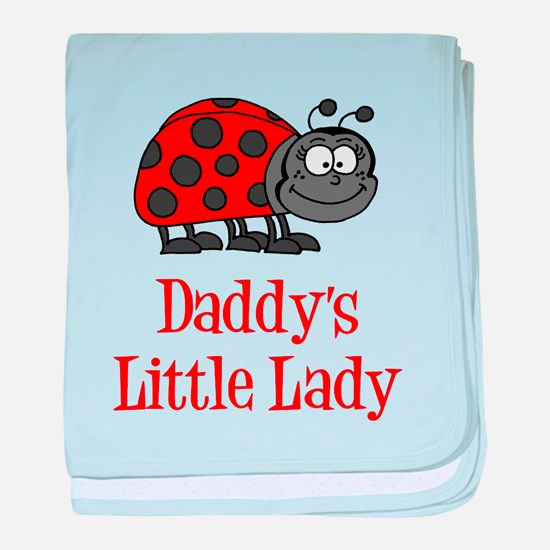 Daddys Little Lady baby blanket