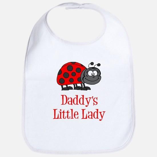 Daddys Little Lady Bib