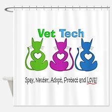 Vet Tech 1.PNG Shower Curtain