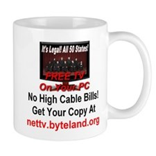 Its Legal All 50 States Free TV On Your PC Mug