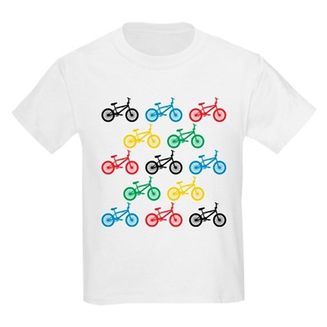 BMX Bikes Kids Light T-Shirt