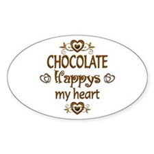Chocolate Happy Decal