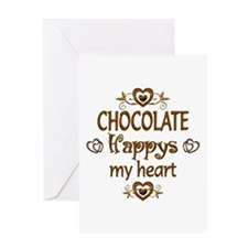 Chocolate Happy Greeting Card