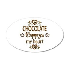Chocolate Happy Wall Decal