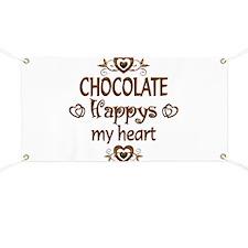 Chocolate Happy Banner
