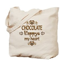 Chocolate Happy Tote Bag