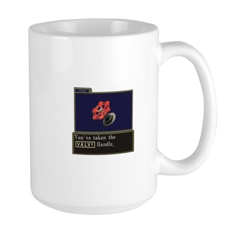 Youve taken the Valve Handle Large Mug