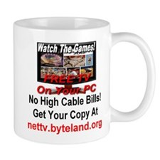 Watch The Games! Free TV on Your PC! Mug