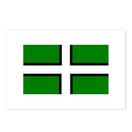 Devon Flag Postcards (Package of 8)